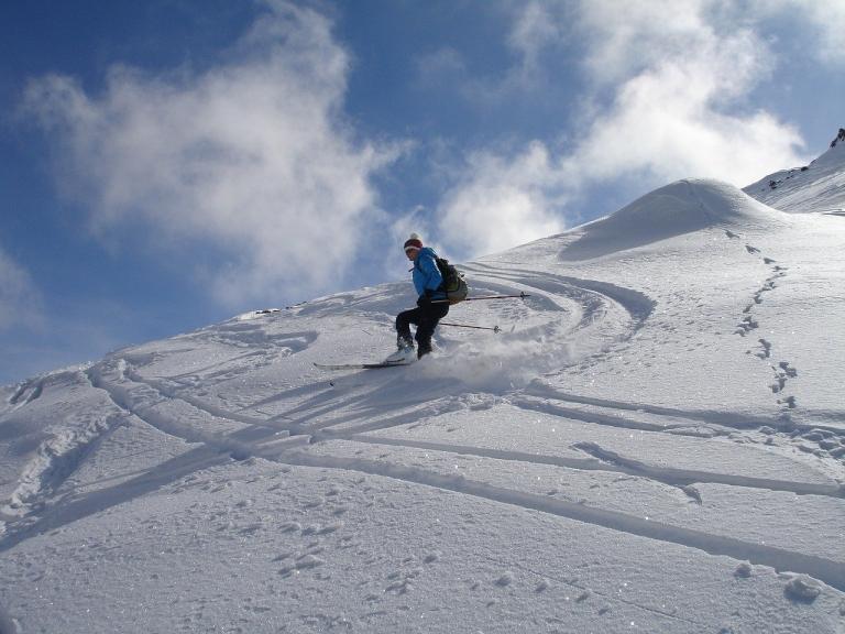 Saalbach Skifahren